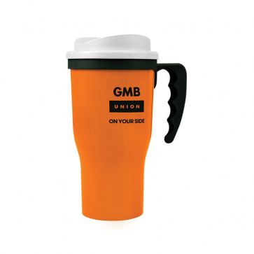 Challenger Travel Mug with Handle (Personalised)