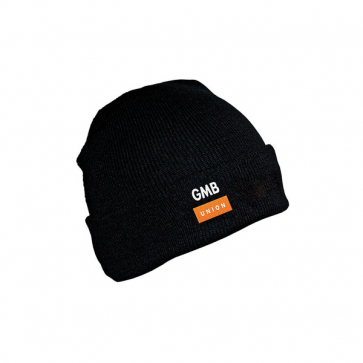 Beanie Hat with Turn-up (Personalised)