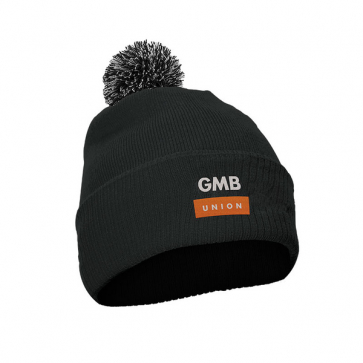 Bobble Hat with Turn-up (Personalised)