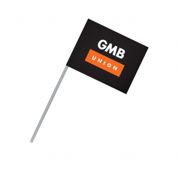 Small Paper Flag (Personalised)