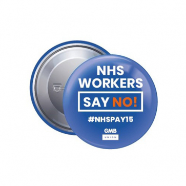 38mm Button Badge - SAY NO