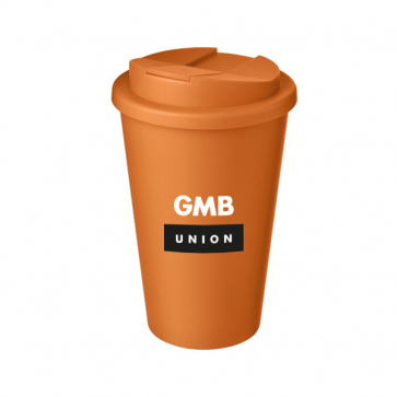 Standard Americano Mug with Spill Proof Lid (Personalised)