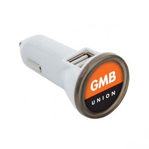 Dual Port Car Charger (Personalised)
