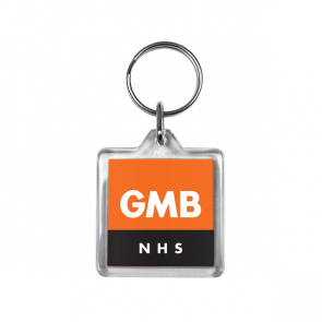 Square Keyring (Personalised)