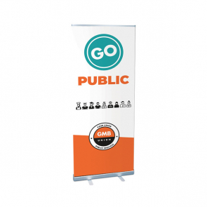 Budget Rollerbanner Stand (Personalised)