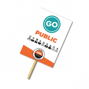 Correx Placards with Poles