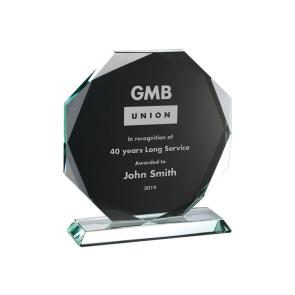 Crystal Award (Personalised)