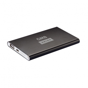 Black Slim 4000mAh Powerbank