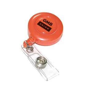 Orange Pass Holder (Personalised)