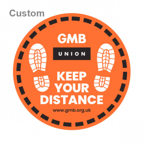 GMB Floor Graphic Stickers