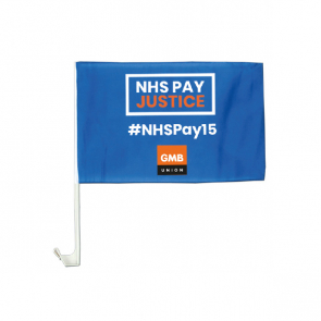 Car Flag - NHSPAY15 (Personalised)