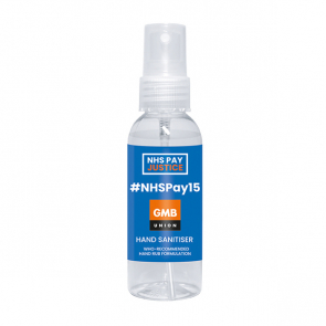 50ml Atomiser/Hand Sanitiser - NHSPAY15 (Personalised)