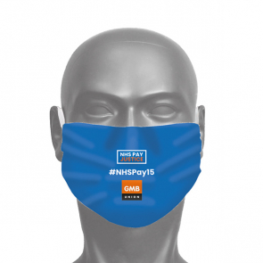 3 Ply Face Covering - NHSPAY15 (Personalised)
