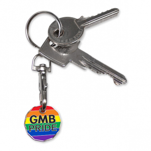 GMB PRIDE Trolley Coin
