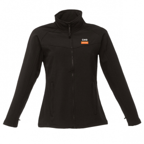 GMB Ladies Softshell Jacket Black