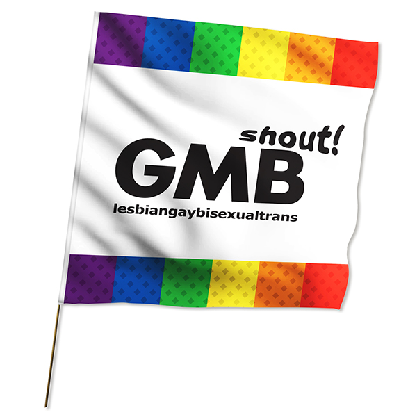 1 x 1m Large Flag